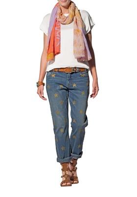 широкие джинсы Апарт