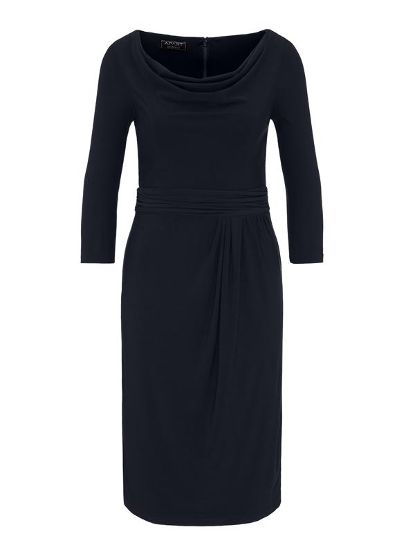 44baab63673 Купить по выгодной цене платье футляр со складками в интернет-магазине Апарт