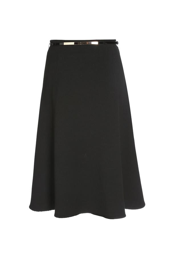 dcda7740cbc Продажа А-образной юбки с цельнокроеным поясом с узкими шлевками на сайте  Апарт