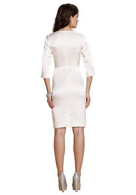 2eeb13dce10 Купить по выгодной цене свадебное платье с декоративной шлицей в ...